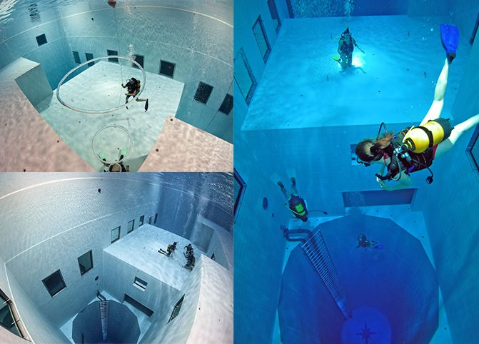 Nemo 33 Pool - Collage