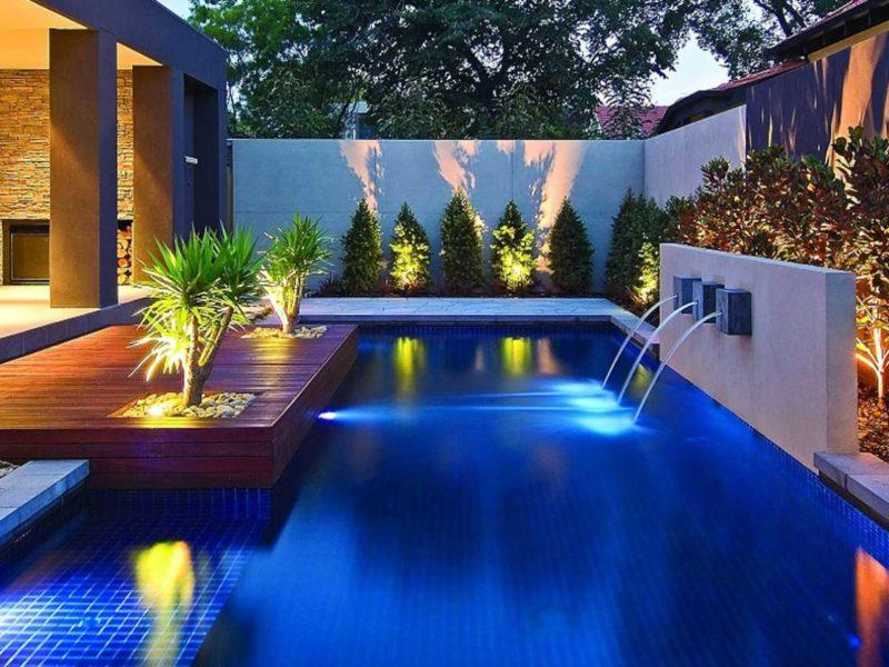 swimmingpool beleuchtung licht led