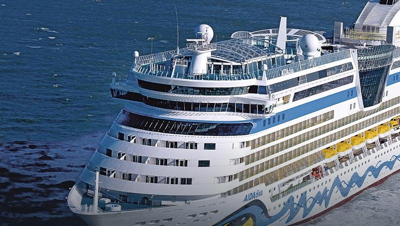 RivieraPool auf Kreuzfahrtschiff, Swimmingpool auf Schiff