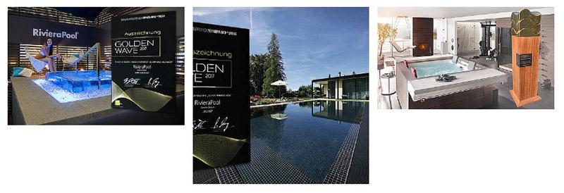 Schwimmbad, Pool, Golden-Wave-Auszeichnung