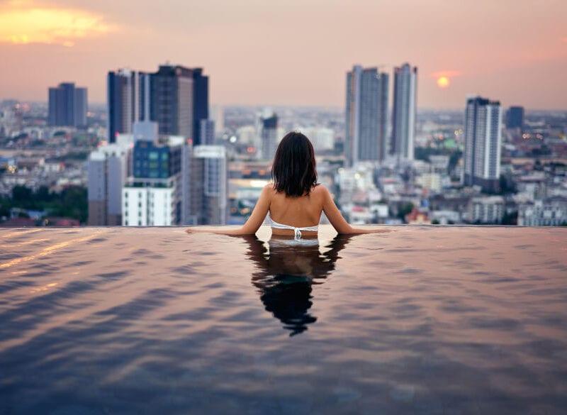 Pool auf Dach oder Terrasse das ist wichtig